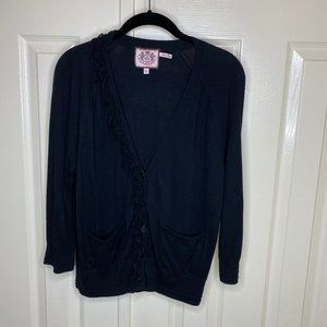 Juicy Couture Ruffle Cardigan